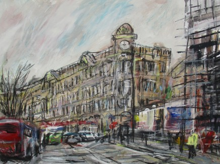 Matthew Thompson, Scaffolding, Victoria Station