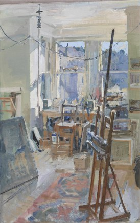 Peter Brown ROI NEAC, Summer Morning, The Studio