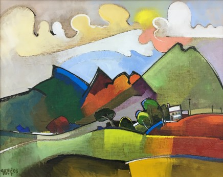 Geoffrey Key, Sun and Clouds, 2008