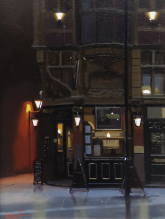 Michael Ashcroft MAFA, Mr Thomas's Chop House, 2018