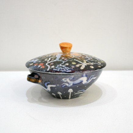 Kate Collins MAFA, Fairyland Lidded Bowl
