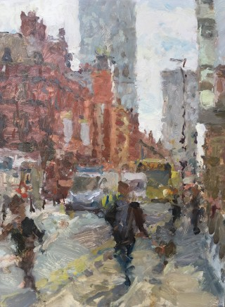 Adam Ralston MAFA, Dogwalk, Deansgate, 2019