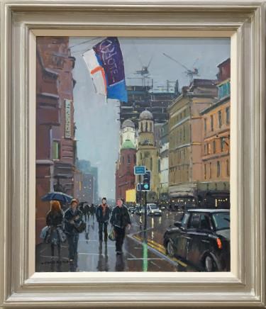 Chris Slater, Midland Hotel Rain Effect, Manchester