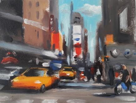 Liam Spencer, Times Square Taxi