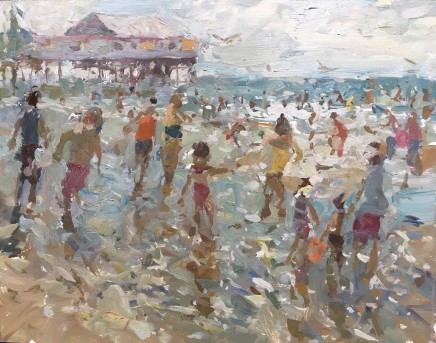 Adam Ralston MAFA, Fun At The Beach