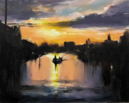 Liam Spencer, Aveiro Sunset, 2020
