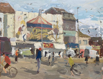 Adam Ralston MAFA, Carousel Amusements