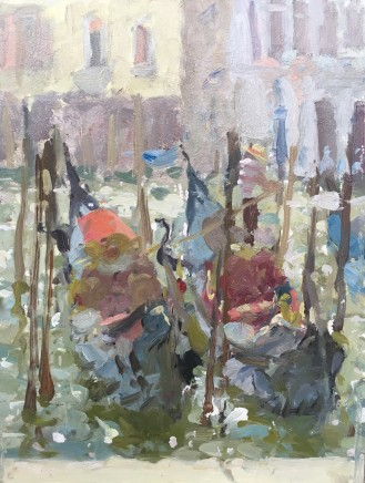 Adam Ralston MAFA, Waiting Gondolas, 2018