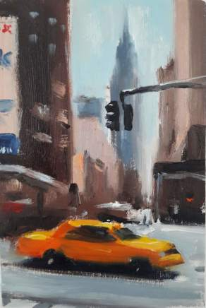 Liam Spencer, Taxi and Empire State, 2018