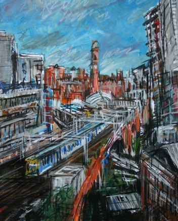 Matthew Thompson, Train Leaving Oxford Road Station