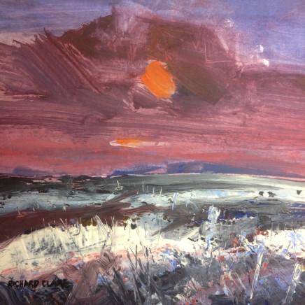 Richard Clare, Winter Sunset