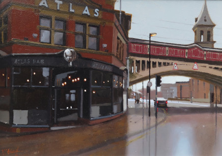 Michael Ashcroft MAFA, Atlas Bar, 2018