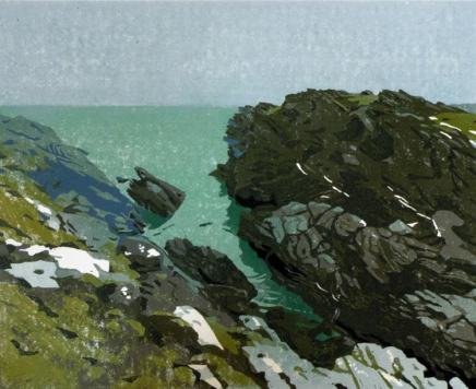 Ann Lewis RCA, Early Morning, Porth Dafarch Cliffs, 2020