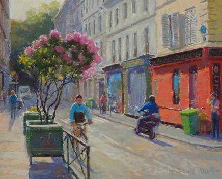 David Allen, Rue Andre Del Satre, Montmartre