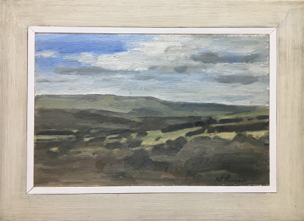 Alan James Thompson, Landscape Towards Glossop, 2018