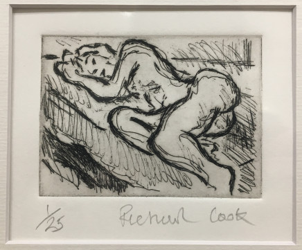 Richard Cook, Reclining Nude #2