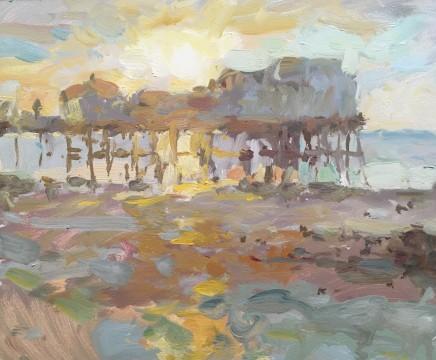 Adam Ralston MAFA, North Pier Sunset