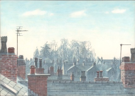 Helen Clapcott, Across the Gardens
