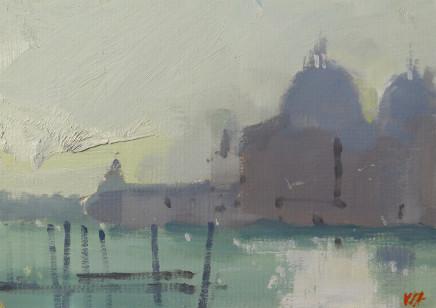 Michael Ashcroft MAFA, Monets View 2