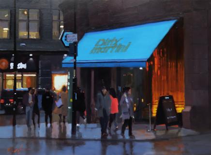 Michael Ashcroft ROI MAFA, Dirty Martini, Manchester
