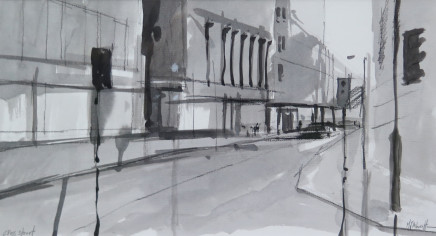 Michael Ashcroft MAFA, Cross Street (2), 2018