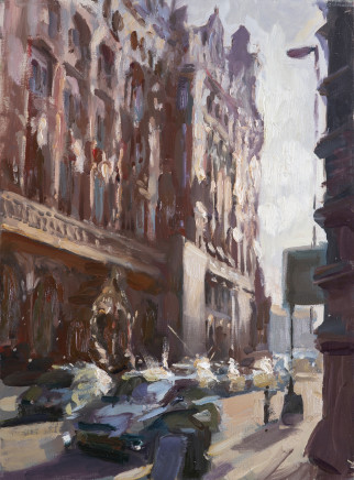 Rob Pointon ROI RBSA MAFA, Side of The Midland Hotel