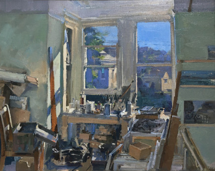 Peter Brown ROI NEAC, The Studio
