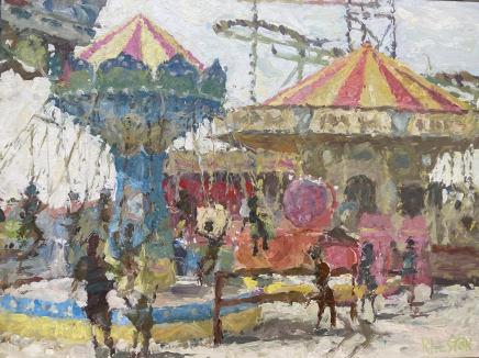 Adam Ralston MAFA, Swing Carousel