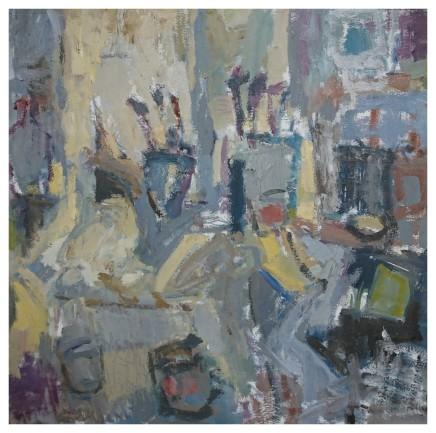 Ian Norris MAFA, Brush and Paint Pots