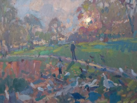 Andrew Farmer, Sunset at the Duck Pond