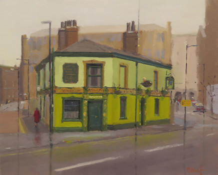 Michael Ashcroft MAFA, Lady In Red, Peveril of the Peak, Manchester