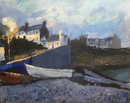 Anne Aspinall MAFA, Moelfre by Night