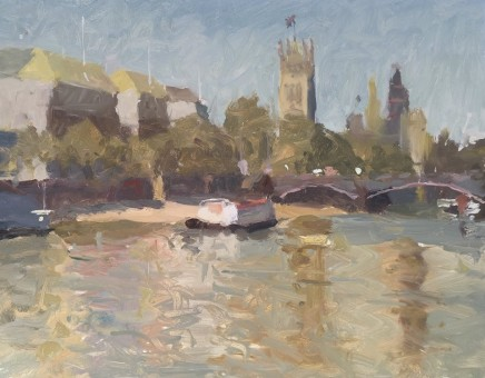 Adam Ralston MAFA, Lambeth Bridge and Westminster