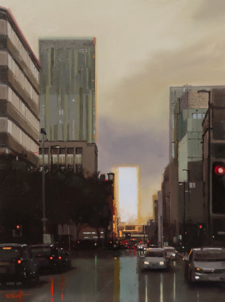Michael Ashcroft MAFA, After Glow, Deansgate, Manchester, 2018