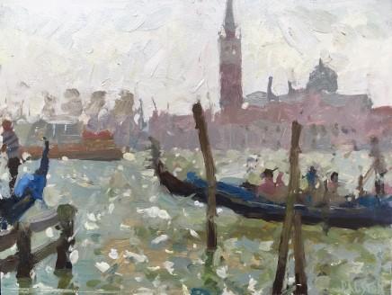 Adam Ralston MAFA, Gondola On The Grand Canal