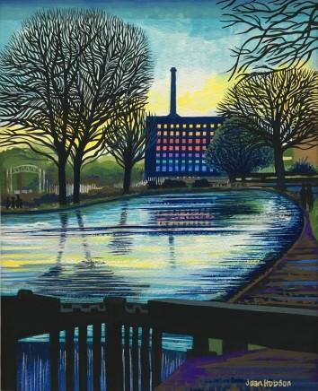 Jean Hobson, Lockgates, Victoria Mill (Study)
