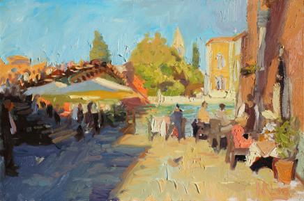 Norman Long MAFA, Creeping Shadows Accademia Bridge