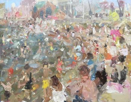 Adam Ralston MAFA, Blackpool Beach