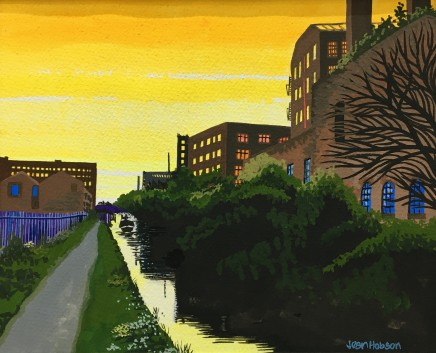 Jean Hobson, Manchester / Ashton Canal (Study)