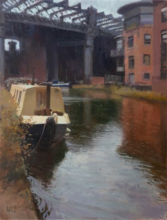 Rob Pointon ROI, Raindrops, Castlefield, 10/2020