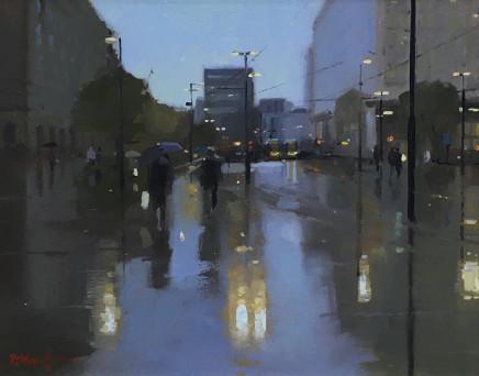 Michael Ashcroft AROI MAFA, St Peter's Sq, Reflections