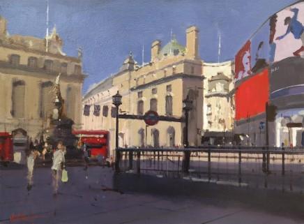 Michael Ashcroft MAFA, Piccadilly Circus, London