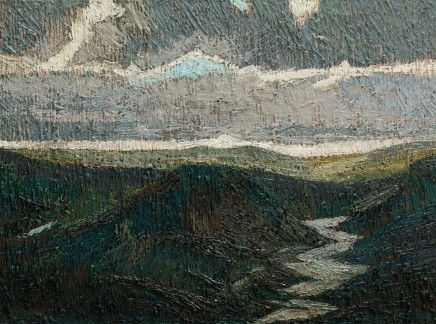 Jake Attree, Storm Passing Over the Moor