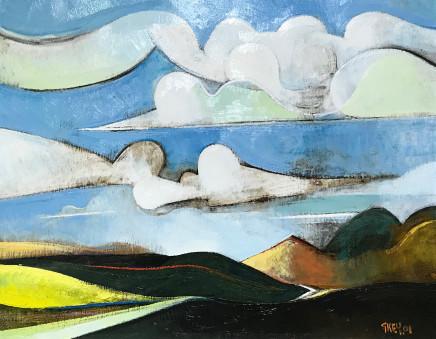 Geoffrey Key, Clouds, 1992