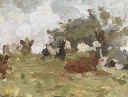 Adam Ralston MAFA, Cows On The Hill