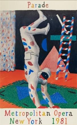 David Hockney, Parade, 1981