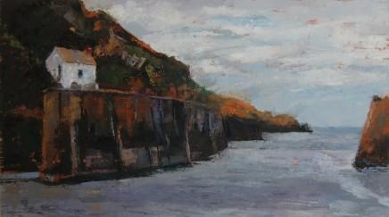 Anne Aspinall MAFA, Harbour Entrance, Porthgain
