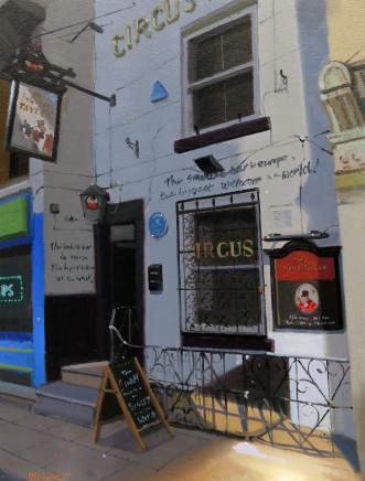 Michael Ashcroft AROI MAFA, Circus Tavern 1790, 2018