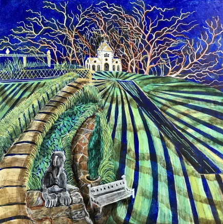 Kate Collins MAFA, Bodnant Gardens