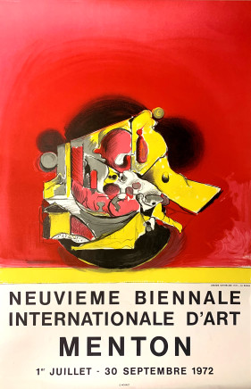 Graham Sutherland, Neuvieme Biennale Internationale D'art Menton 1, 1972